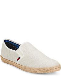 Ben Sherman Jenson Canvas Espadrille Slip On Sneakers