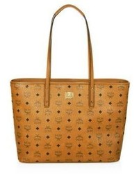 MCM Anya Top Zip Shopper Tote