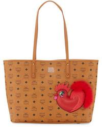 MCM New Year Series Medium Top Zip Shopper Bag