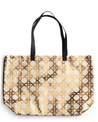 Trellis tote metallic medium 518423