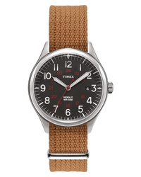 TimexR ARCHIVE Timex Archive Waterbury Braided Strap Watch