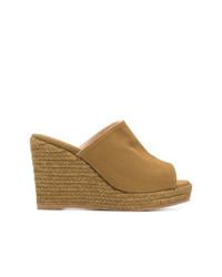 Castaner Castaer Woven Platform Wedge Sandals