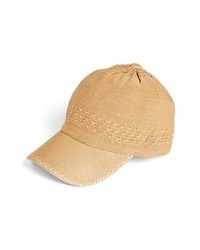 Collection XIIX Crochet Baseball Cap Sun Tan One Size