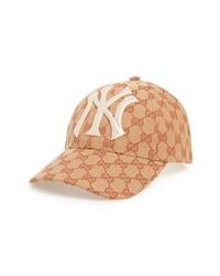 Gucci Ny Gg Canvas Baseball Cap