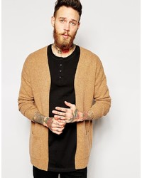 Men's Tan Cardigans from Asos | Men's Fashion