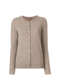N.Peal Cashmere Round Neck Cardiganr