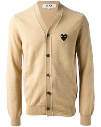Comme des Garcons Comme Des Garons Play Embroidered Logo Cardigan