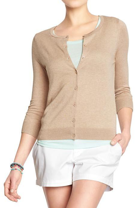 Old Navy Lightweight 34 Sleeve Cardigans | Where to buy & how to wear