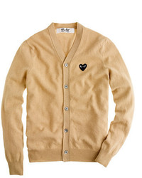 J.Crew Play Comme Des Garons Cardigan Sweater