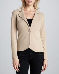 Neiman marcus cashmere long sleeve blazer medium 39202
