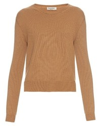 Valentino Long Sleeved Cashmere Sweater