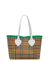 Burberry Medium Check Shopper Tote