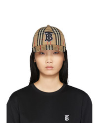 Burberry Beige Monogram Vintage Baseball Cap