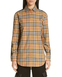 Burberry Saoirse Vintage Check Cotton Shirt
