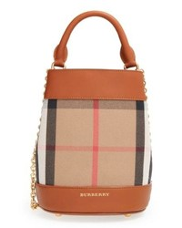 Burberry Mini House Check Bucket Bag 1b32a7dd8ba2c