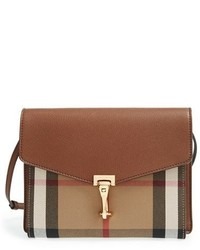 Burberry Small Macken Check Crossbody Bag