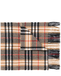 Cashmere check scarf medium 5276301
