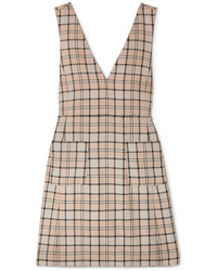 See by Chloe Checked Woven Mini Dress
