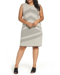 Nic+Zoe Mantra Chevron Stripe Knit Sheath Dress