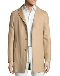 Loro Piana Short Cashmere Three Button Coat