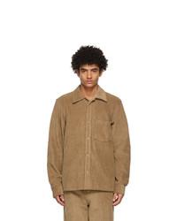 Acne Studios Brown Corduroy Shirt