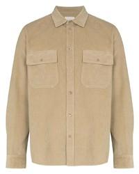 Wood Wood Corduroy Buttoned Shirt