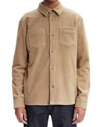 A.P.C. Joe Stretch Cotton Corduroy Shirt Jacket