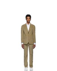Maison Margiela Beige Corduroy Classic Suit