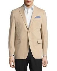 Black & Brown Black Brown Jack Fit Two Button Jacket