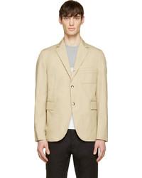 Gamme bleu beige cotton classic blazer medium 256335