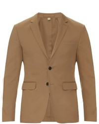 Burberry London Stirling Cotton Blend Blazer