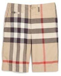 Burberry Little Boys Boys Lightweight Cotton Chino Shorts