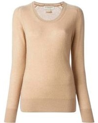 Tan crew neck sweater original 1327461