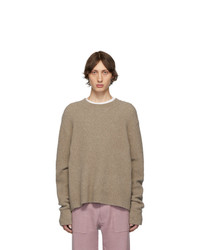 Nanushka Beige Virote Sweater