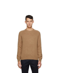 Saint Laurent Brown Camel Hair Sweater