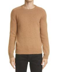 Saint Laurent Camel Hair Sweater