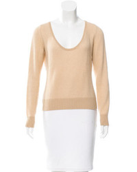 Loro Piana Cashmere Scoop Neck Sweater