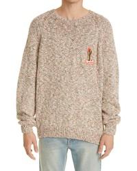 Alanui Desert Mood Embroidered Sweater