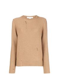 Golden Goose Deluxe Brand Distressed Crewneck Sweater