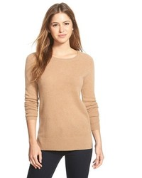 Halogen crewneck lightweight cashmere sweater medium 349194