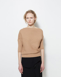 J.W.Anderson Jw Anderson Twisted Knit Top