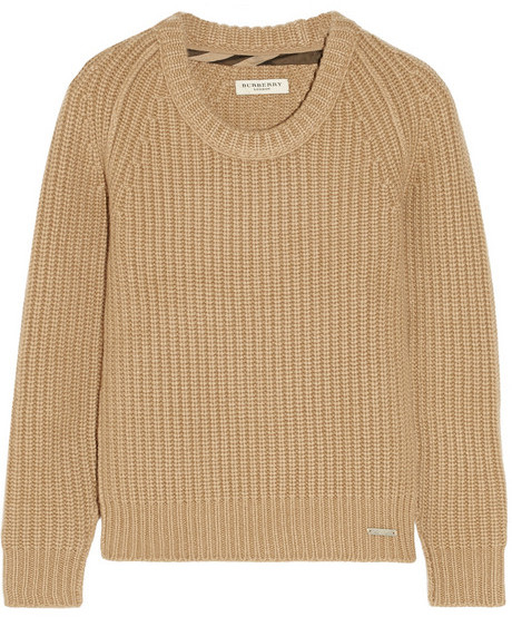 Burberry London Chunky Knit Cashmere Sweater | Where to buy & how ...