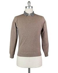 Luigi Borrelli New Brown Sweater Xx Large56