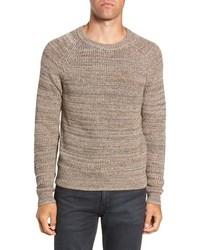 Frye Ribbed Crewneck Sweater