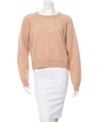 Alexander Wang T By Cropped Wool Sweater W Tags