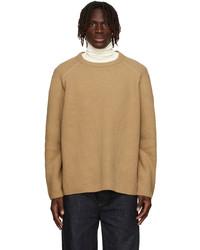Dries Van Noten Tan Merino Wool Sweater