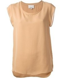 3.1 Phillip Lim Cap Sleeve T Shirt