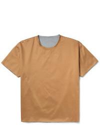 Valentino Boxy Fit Double Layered Cotton Jersey T Shirt