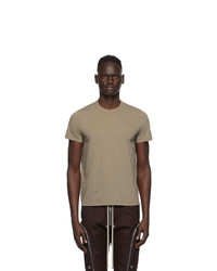 Rick Owens Brown Small Level T Shirt