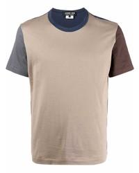 Comme des Garcons Homme Deux Comme Des Garons Homme Deux Colour Block Fitted T Shirt